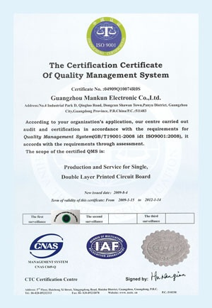 Smart TV Box Manufacturer ISO Certificate