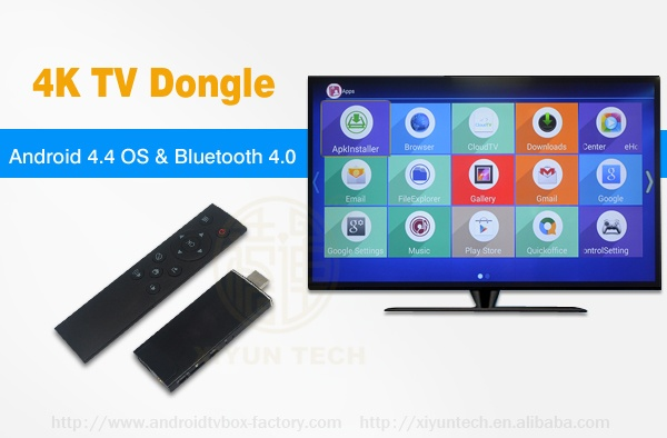 Android 4.4 tv stick quad Core